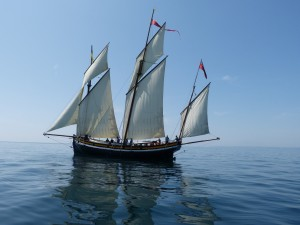 Grayhound Lugger Sailing